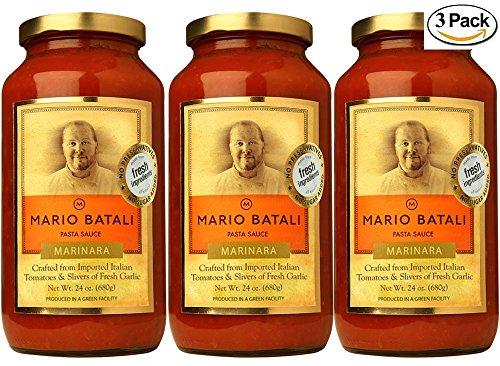 Mario Batali Marinara Sauce 24 oz (3 -