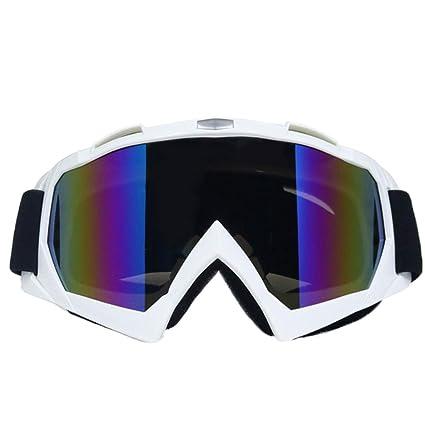 WSShop Gafas de sol de estilo simple para motocicleta ...
