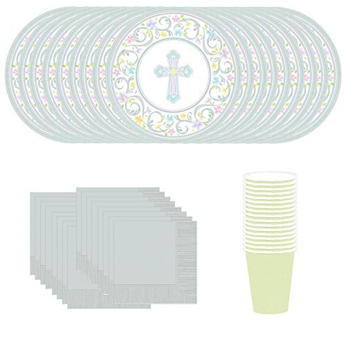 Easter, Confirmation, Baptism, or Religious Occasion Christian Party Supply Service for 18