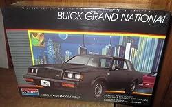 #2765 Monogram Buick Grand National 1/24 Scale Plastic Model Kit,Needs Assembly from Monogram