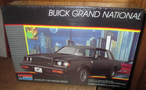 #2765 Monogram Buick Grand National 1/24 Scale Plastic Model Kit,Needs Assembly