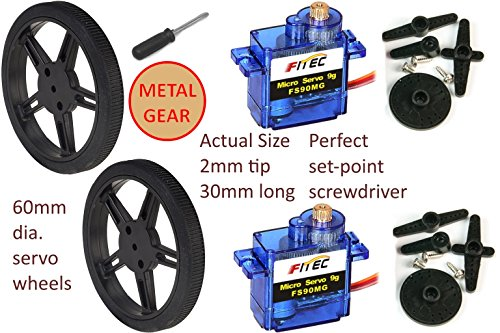 Best continuous rotation servo wheels | Meata Product Reviews