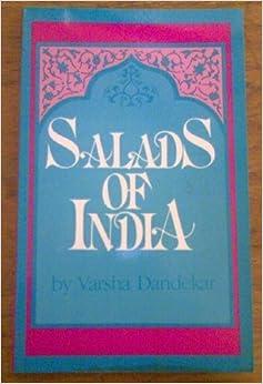 Book Salads of India by Varsha Dandekar (1983-05-03)
