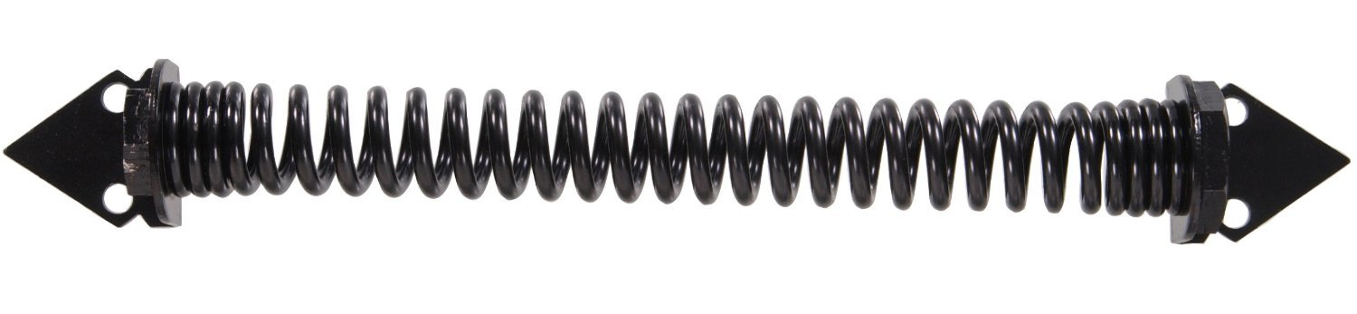 The Hillman Group 851368 12-Inch Self Closing Gate Spring, Black Finish (2 Pack)