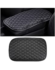 BLAU GRUN Auto Center Console Cover Pad, Waterproof PU Leather Car Armrest Seat Box Cover Protector, Universal Fit Most Vehicle, SUV, Truck, Car