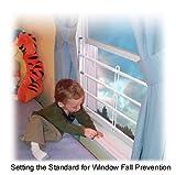 Guardian Angel Window Guard, 58'' to 90'' Opening Guard Size: 3 Bar - 13'' (#43)