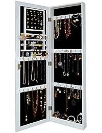 Amazoncom Wall Jewelry Armoires Jewelry Boxes Organizers