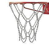 Fenebort Heavy Duty Steel Chain Basketball Net,Metal Replacement Basketball Net,Fits All Basketball Hoop Standard Size Rims