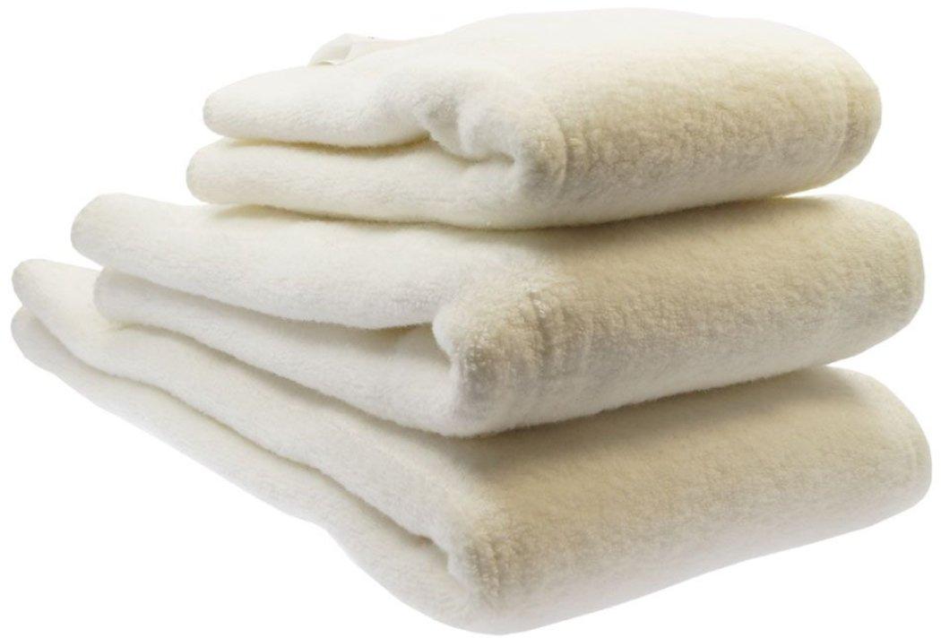 Blümchen Faltwindeln 6 Stück Prefold BioBaumwolle Twill Falteinlagen