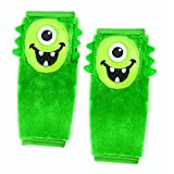Nuby Monster Seat Belt Strap Cover, Green