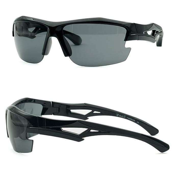 Amazon.com: BNUS Warrior Gafas de sol polarizadas deportivas ...