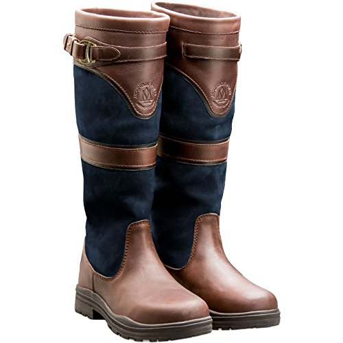 Brown Dark Tall Navy Waterproof Mountain Navy Devonshire Boot Yard Horse or 0xqfASFwUn