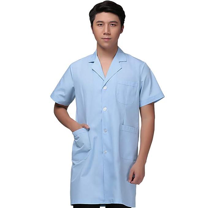 ESENHUANG Chaqueta Médica Uniformes De Servicio Médico Ropa De Enfermera Ropa De Laboratorio Ropa De Médico De Hospital: Amazon.es: Ropa y accesorios