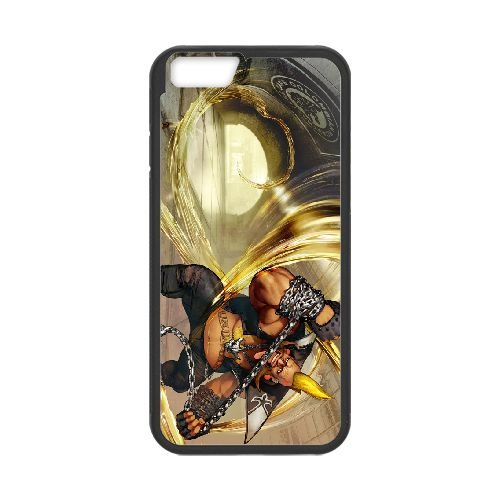 Street Fighter V 4 coque iPhone 6 Plus 5.5 Inch cellulaire cas coque de téléphone cas téléphone cellulaire noir couvercle EEECBCAAN03123