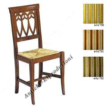 Stuhle Holz Antik Esszimmer Holzstuhle Klassisch Italienischer