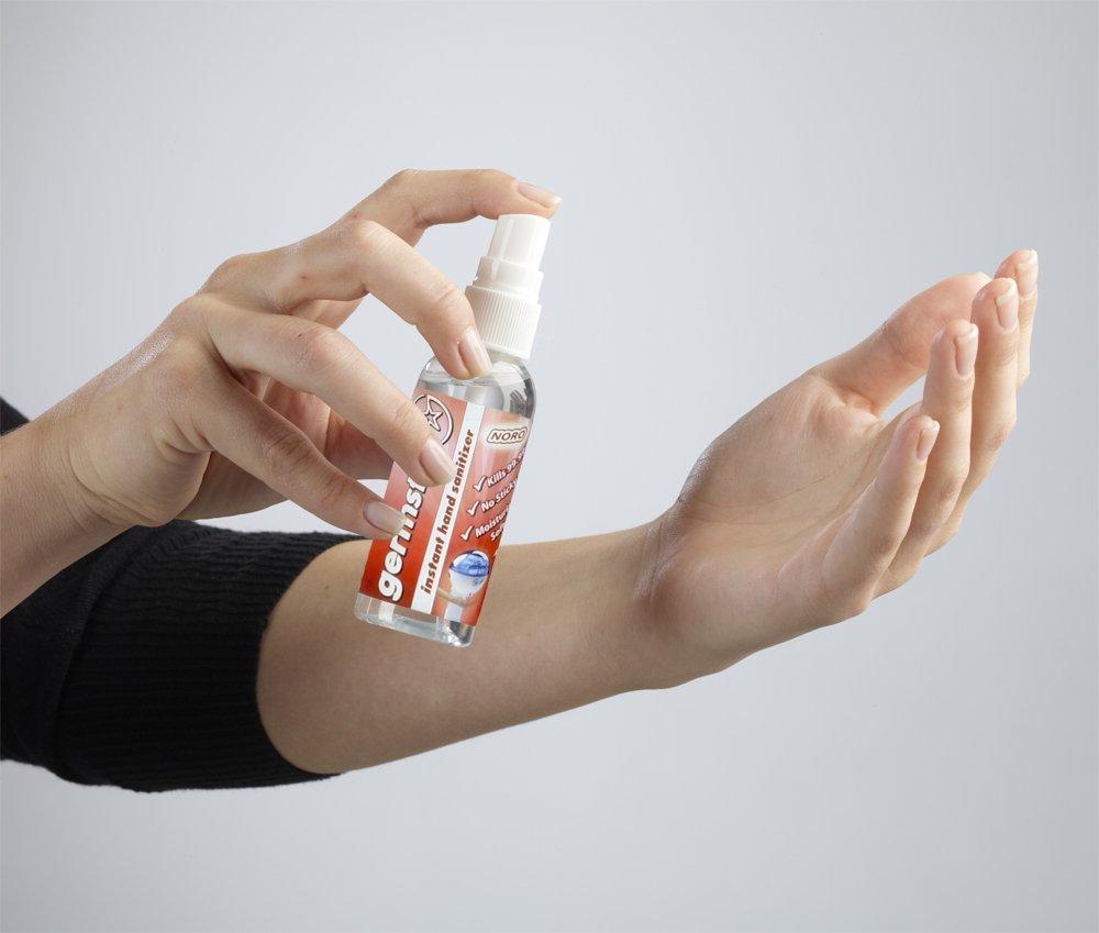 Germstar Noro 2oz Hand Sanitizer Spray Bottles (6/case) by Germstar