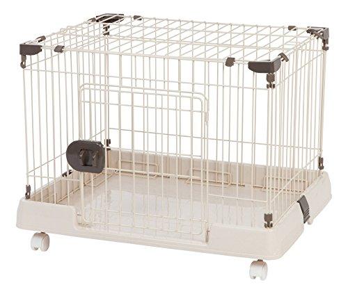 IRIS Portable Wire Animal Cage, Small