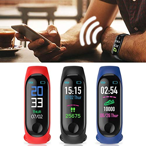 Sooseder Waterproof Bluetooth Sports Smart Wristband Rate Monitor Fitness Tracker Smart Watches