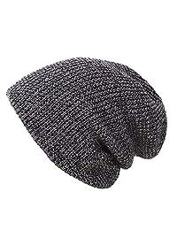 YoyKing Winter Beanie Skull Cap Warm Knit Fleece Ski Slouchy Hat for Men & Women