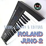 Musical Instruments : ROLAND Juno-2 Huge Original Factory & new Created Sound Library & Editors on CD or download