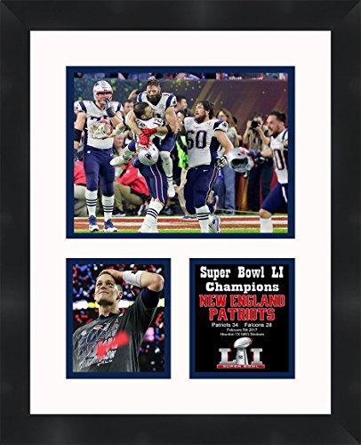 Frames by Mail Super Bowl 51 Tom Brady New England Patriots Framed Photo