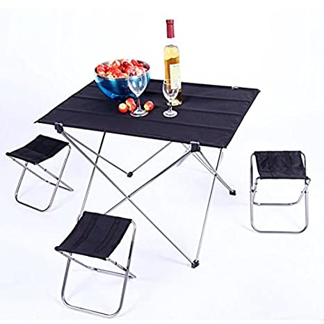 Beau Portable Folding Picnic Barbecue Table Light Weight Foldable Desk  Multifunction Home Furniture