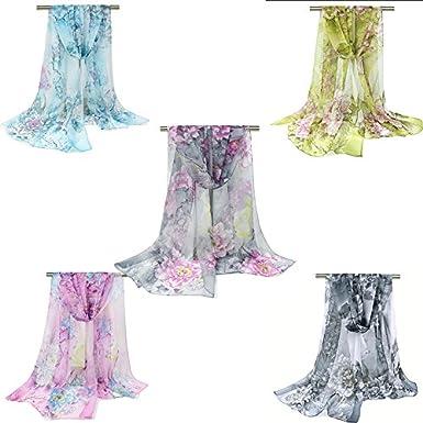 LAAT Foulards Echarpe Foulard Long dame coton candy couleur /écharpe ch/âle /écharpe femme /écharpe coton couleur unie /écharpe wrap /écharpes de protection solaire /Ét/é Fleurs