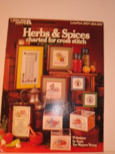 Herbs & Spices Charted For Cross Stitch: 17 Designs., used for sale  Delivered anywhere in USA