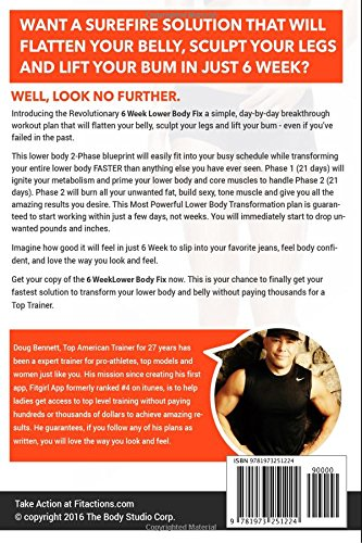 The 6 WEEK LOWER BODY FIX Your Ultimate Lower Body Workout Plan To Help You Get Lean Legs Flat Belly And A Cute Bum FAST Fitaction Reboot Series Doug