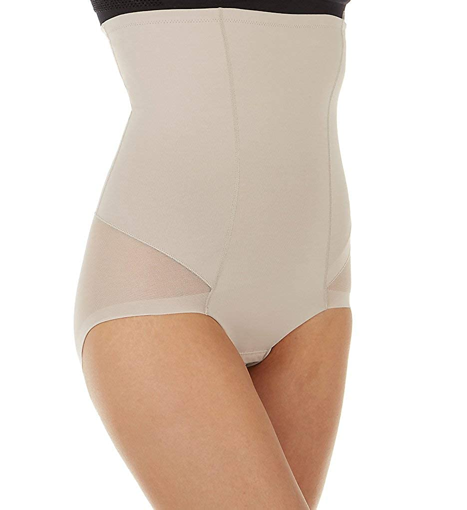 738071029701b Leonisa Women s Invisible High Waist Firm Tummy Control Bodysuit Shaper at  Amazon Women s Clothing store