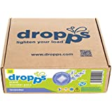 Dropps HE Laundry Scent Booster Pacs with In-Wash Softener & Enhancer, Lavender, 120 Loads