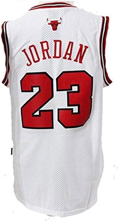 LinkLvoe Camiseta de Baloncesto NBA Michael Jordan # 23 Chicago Bulls para Hombres los fieles Seguidores de Los Angeles Lakers y Lebron James no Deben perderse Esta Camiseta