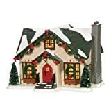 Department 56 Snow Village Dancing Lights Lit House