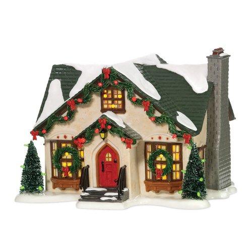 Department 56 Snow Village Dancing Lights Lit House by Department 56 (Image #2)