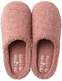 Winter Slippers,Men's and Women's House Slippers,Plush,Warm,Indoor Non-Slip Shoes