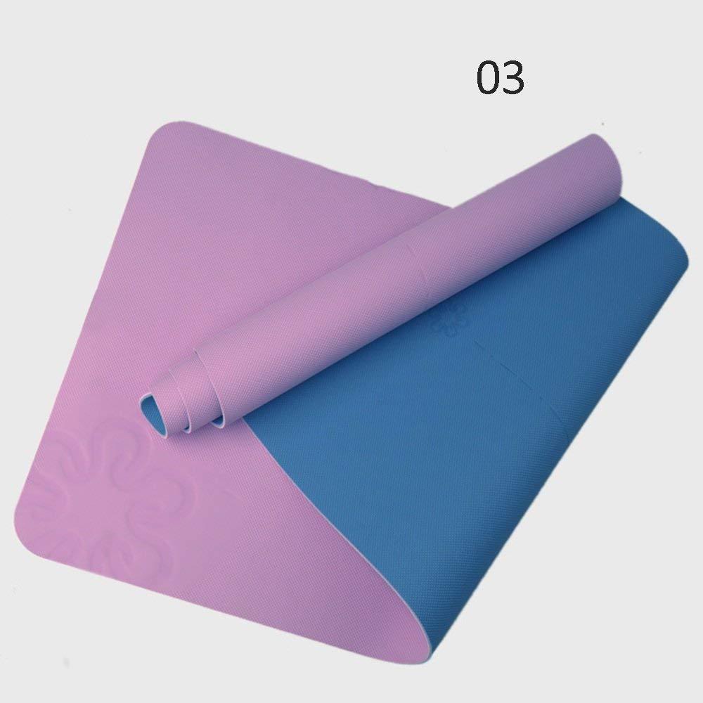 大人の上質  多機能ヨガマット ヨガマットフィットネス初心者無味滑り止めエクササイズヨガマット (Color : C E) B07PS29DLD : C (Color C, 中古パチスロ販売 BIG:dbc6c54e --- by.specpricep.ru