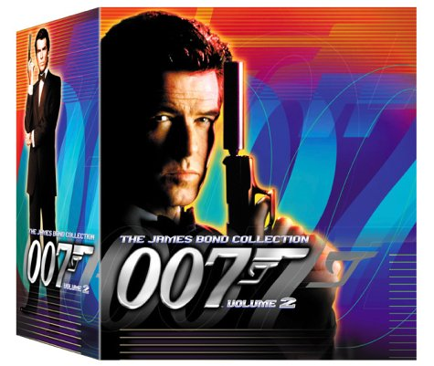 The James Bond Collection, Volume Two: Dr. No. / On Her Majesty's Secret Service / The Man with the Golden Gun / The Spy Who Loved Me / Moonraker [VHS]