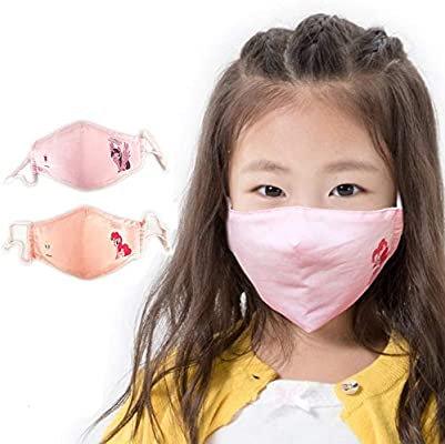 Children Kids Cartoon Winter Warm Windproof Mask Anti-Dust Mouth Face Mask S