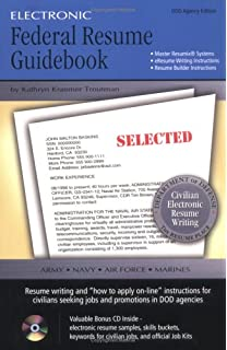 electronic federal resume guidebook