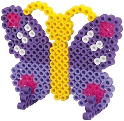 Maxi Perlenset Hama Perlen Schmetterling Bügelperlen Stiftplatte Kinder Kreativ