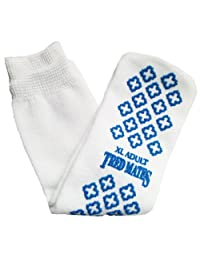 Terry Slipper Socks - Ankle Length with a Non-slip Bottom 3pk