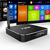 Mifanstech T95 Android 5.1 Amlogic S905 Quad Core KODI 16.0 Tv box with 2GB RAM 8GB ROM 2.4G/5G Dual Wifi Band Bluetooth 4.0 Supported Google Youtube Streaming Media Player