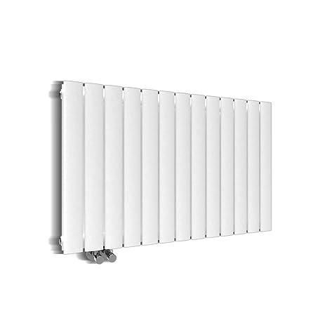 Design Heizkörper 630x1001mm Doppellagig Badezimmer/Wohnraum  Seitenanschluss Weiß Flachheizkörper Badheizkörper Radiator