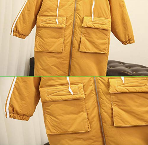 Jacket Jbhurf Taille Long Xxl Puffer Parka Femmes couleur D'hiver Capuchon Warm À Manteau Pour Les Noir fqTfRrn