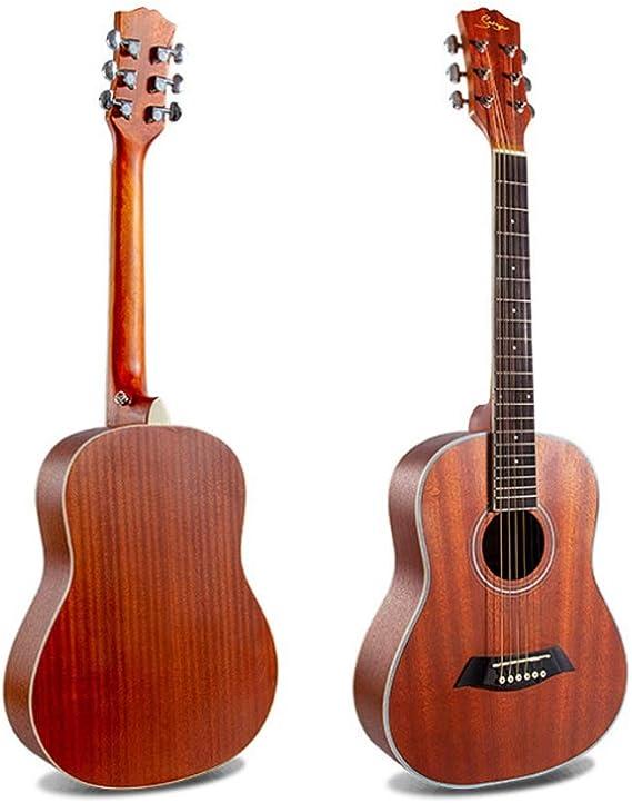 Boll-ATur Guitarra acústica for niños de 34 pulgadas Paquete de ...