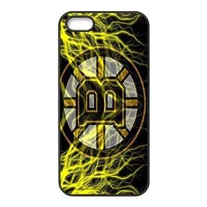 Custom Boston Bruins NHL Back Cover Case for iphone 5,5S JN5S-1156