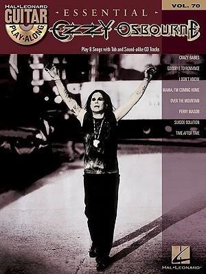[(Guitar Play-Along: Volume 70: Ozzy Osbourne )] [Author: Hal Leonard Publishing Corporation] [Dec-2010]