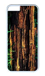 MOKSHOP Adorable decayed tree trunk Hard Case Protective Shell Cell Phone Cover For Apple Iphone 6 (4.7 Inch) - PC White