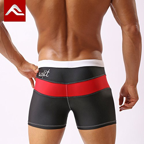 ZQ@QXCinq de la mode pour hommes Taille Boxer maillot de bain,m,b