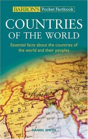 Barron's Pocket Factbook: Countries of the World: Essential Facts About the Countries of the World and Their Peoples (Ba